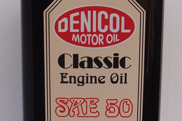Novinka na trhu  - Denicol Classic Engine Oil SAE 50